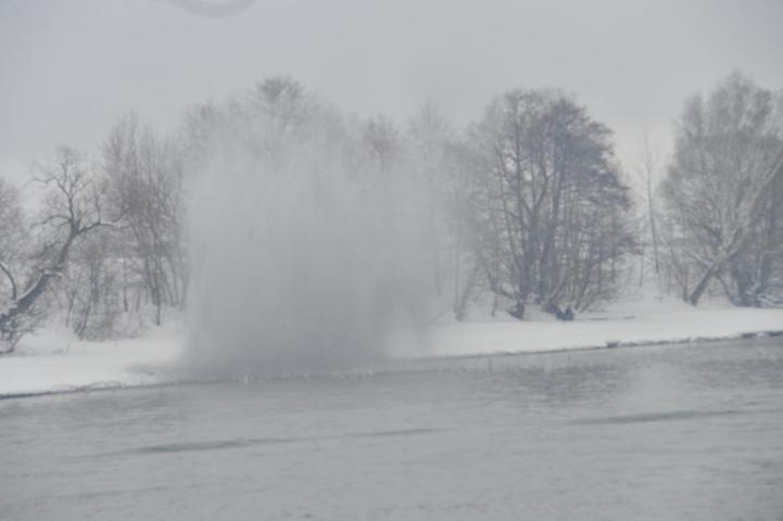 НаТоми началась подготовка квзрыву льда