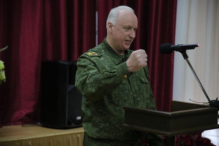 ВСтаврополе проходит Всероссийский слет кадет под патронатом Следственного комитета РФ