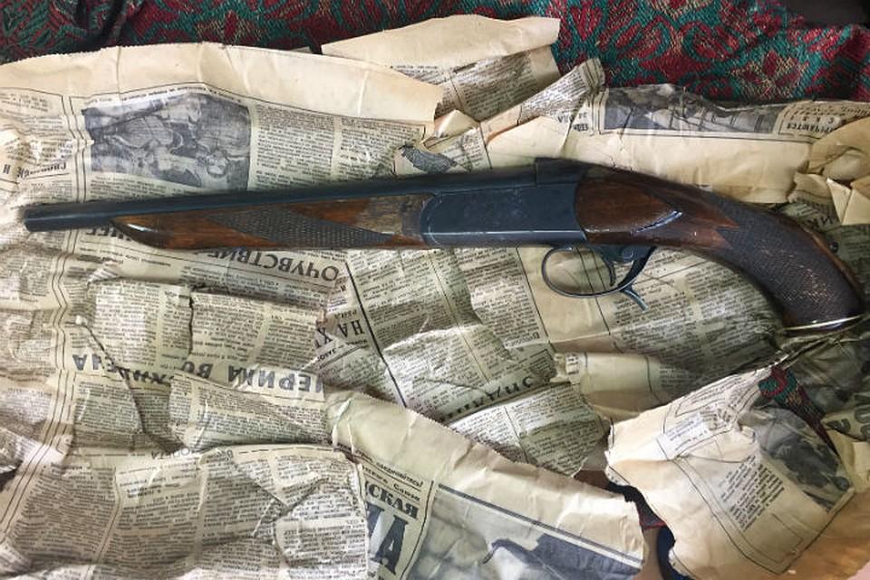 Наантресолях впетербургской квартире матери гражданин Латвии отыскал ружье