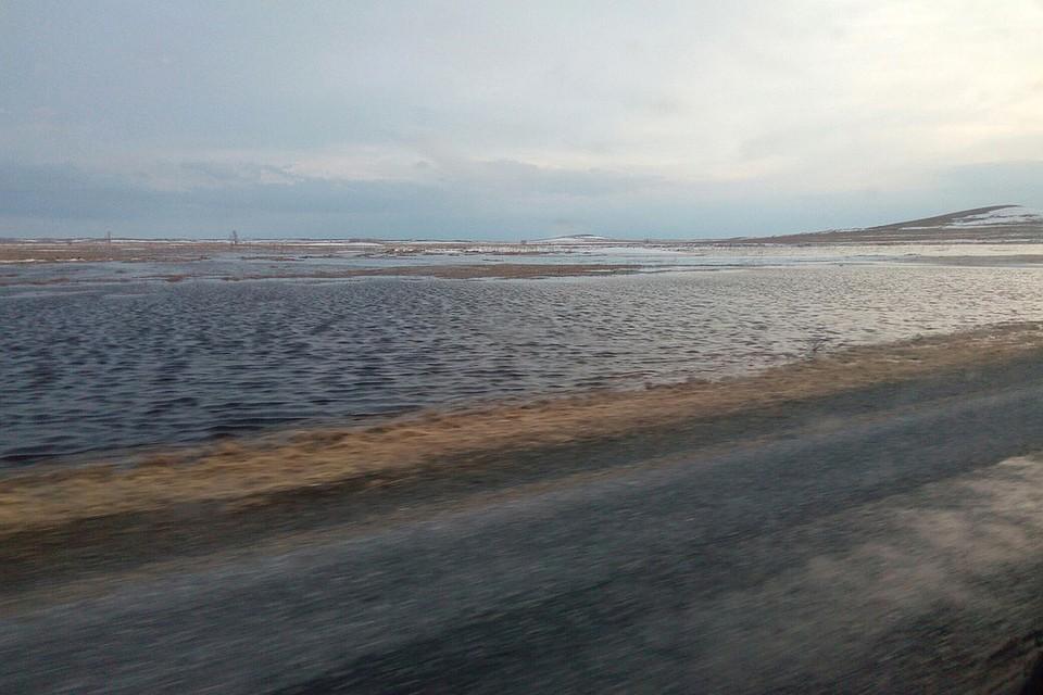 ГИБДД предупреждает обопасном участке дороги «Алейск— Чарышское»