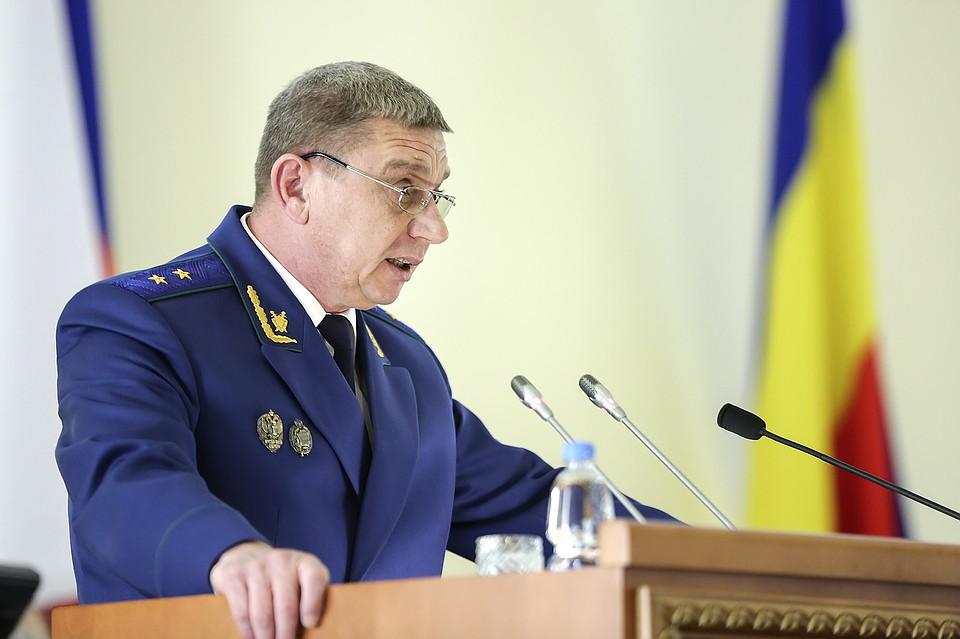 Владимир Путин продлил полномочия обвинителя Ростовской области еще на 5 лет
