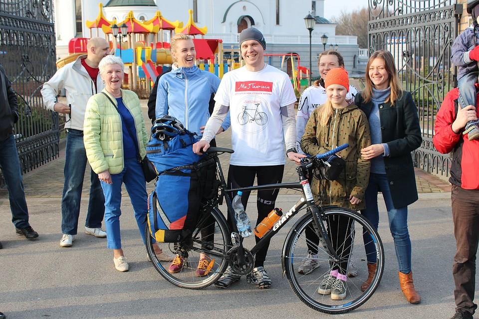 33-летний калининградец отправился вблаготворительный единый  велопробег воВладивосток