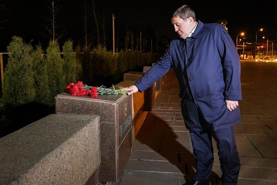 ВВолгограде почтили память погибших при теракте впетербургском метро