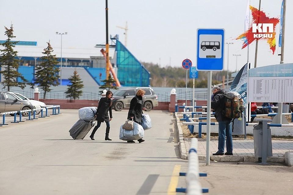 Красноярцы проголосовали зазапуск аэроэкспресса доаэропорта «Емельяново»