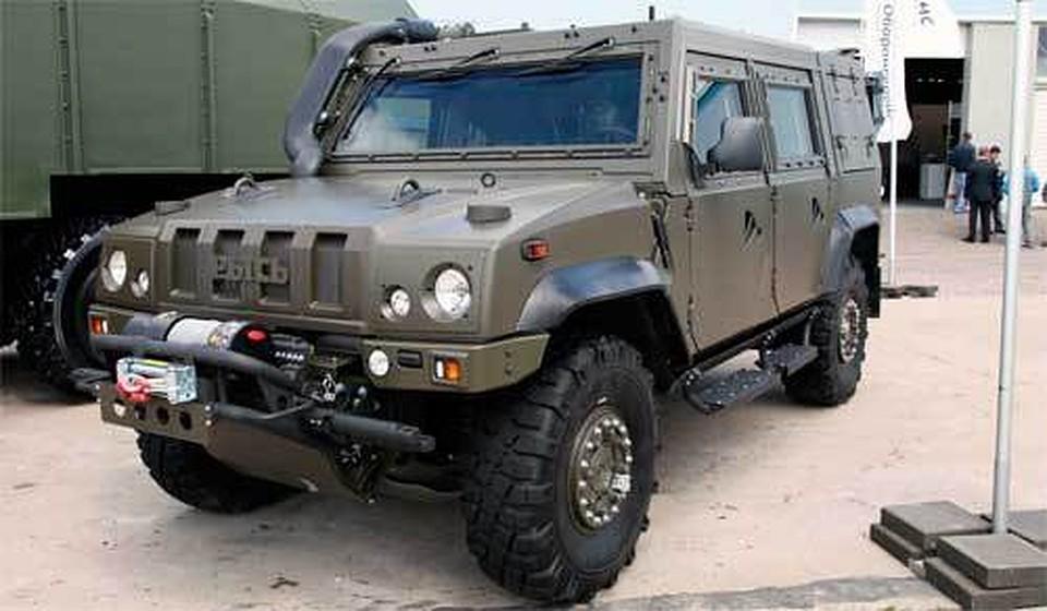 Агентура ВДВ получит 40 бронемашин «Рысь»