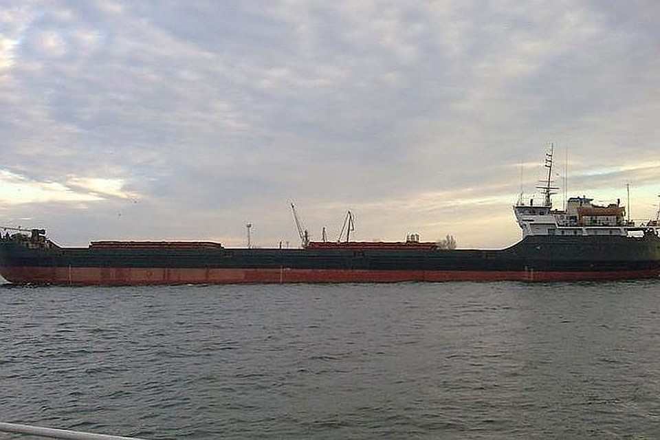 СК Российской Федерации  возбудил дело из-за затопления сухогруза вЧерном море