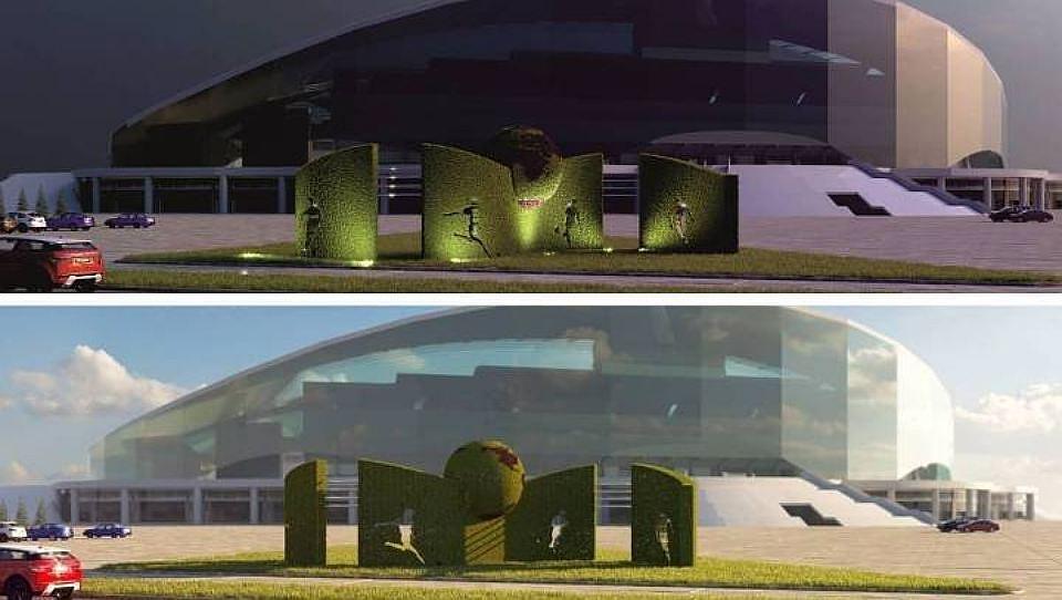 ВКазани появится цветочная стена ФИФА-2018 длиной 19 метров