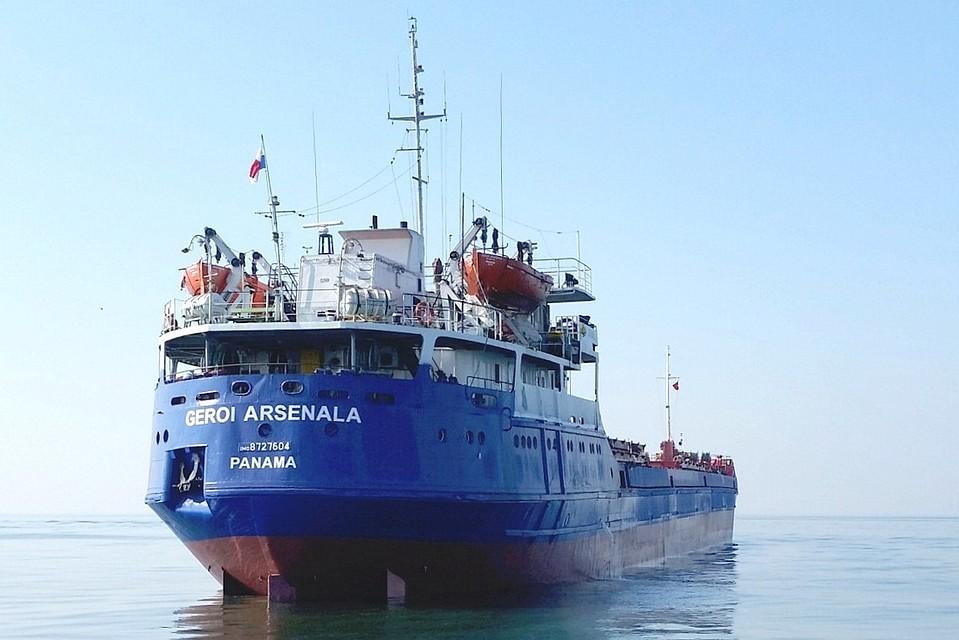 Наместе крушения сухогруза вЧёрном море найдены пустые спасательные шлюпки