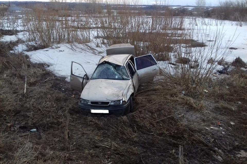 ВПермском крае из-за нетрезвого  водителя пострадало два человека