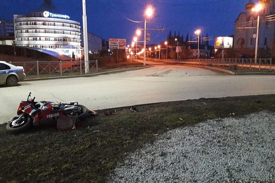 ВТатарстане насмерть разбился мотоциклист