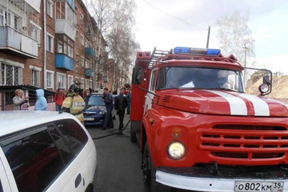 3-х летний сын умер наруках матери после пожара под Иркутском