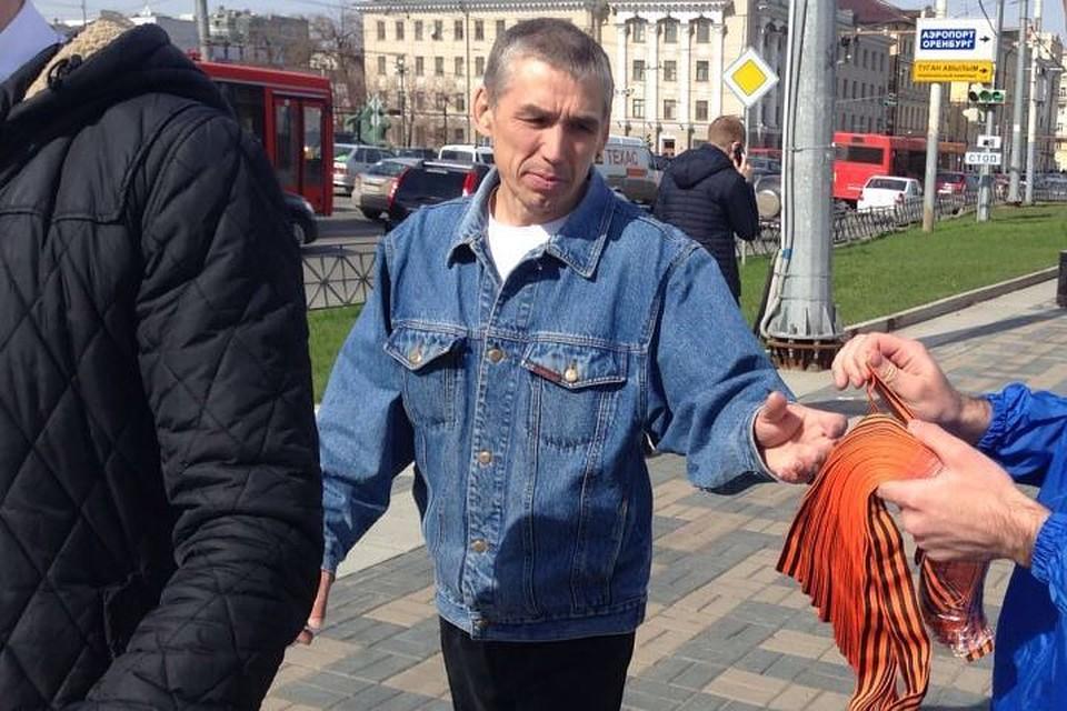 Казань присоединилась квсероссийской акции «Георгиевская лента»