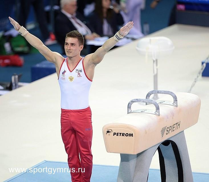 Давид Белявский— чемпион Европы поспортивной гимнастике вупражнении наконе