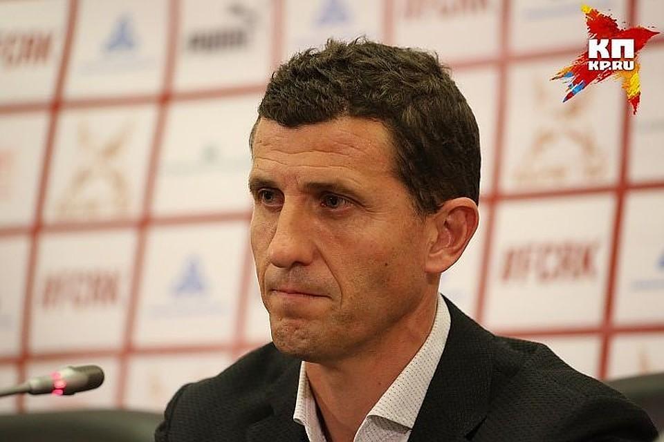 Тренер Хавьер Грасия покинет «Рубин» поокончанию сезона
