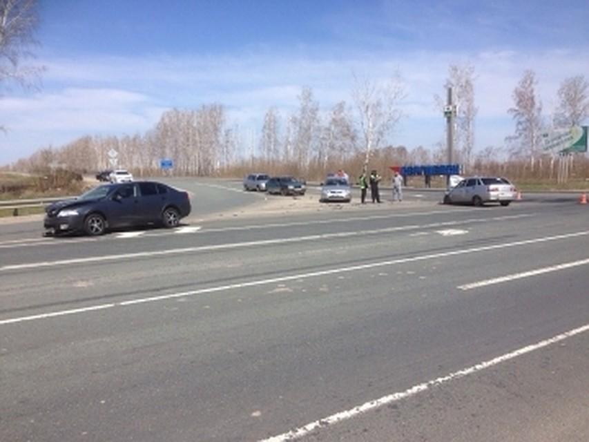 ВСамарской области в«двойном» ДТП умер 56-летний мужчина