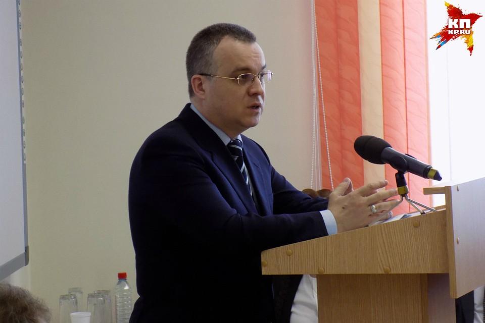 Илья Шульгин стал новым зампредседателя областного руководства