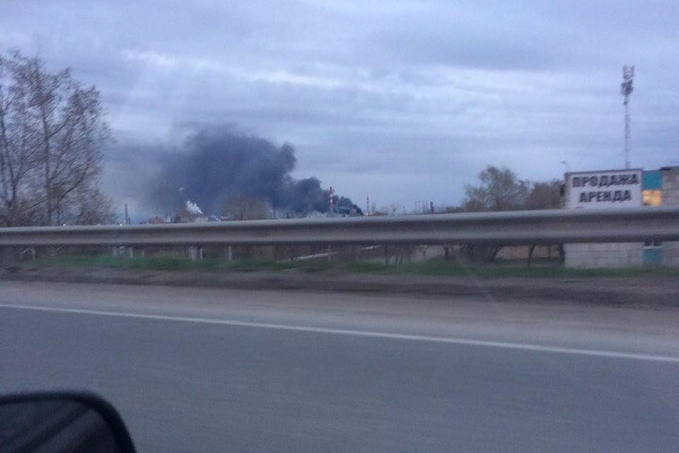 Пожар нанефтеперерабатывающем предприятии вПерми начался впроцессе запуска вакуумного блока