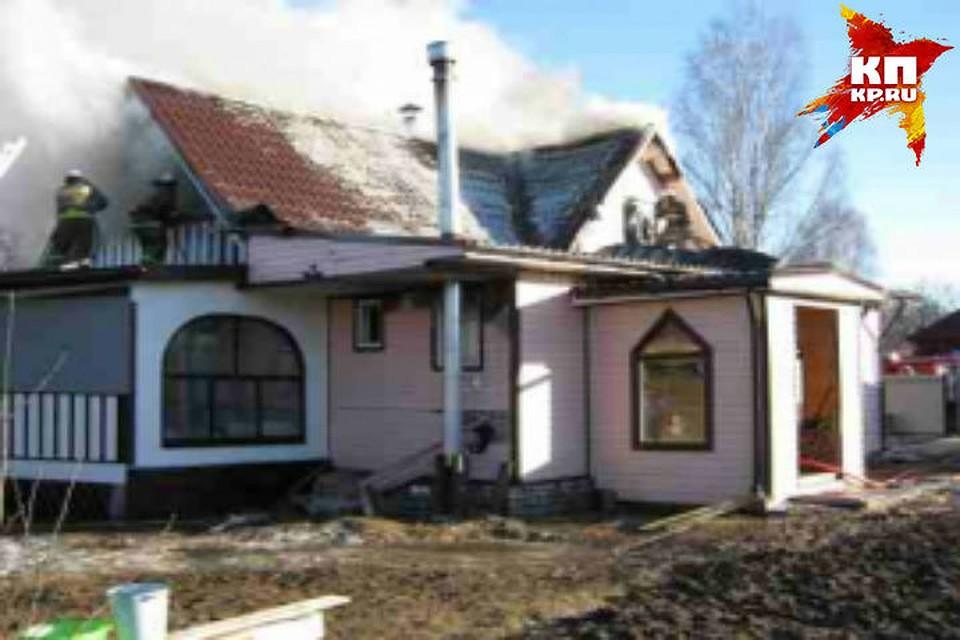 Два дома сгорели ночью вНижегородской области