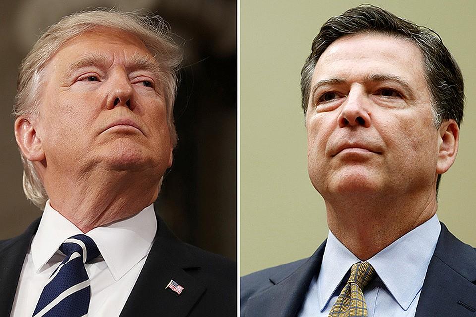 Трамп отправил главу ФБР Джеймса Коми в отставку.
