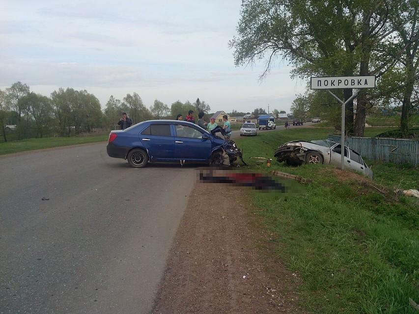 Натрассе вБашкирии под Стерлитамаком двое погибли вДТП