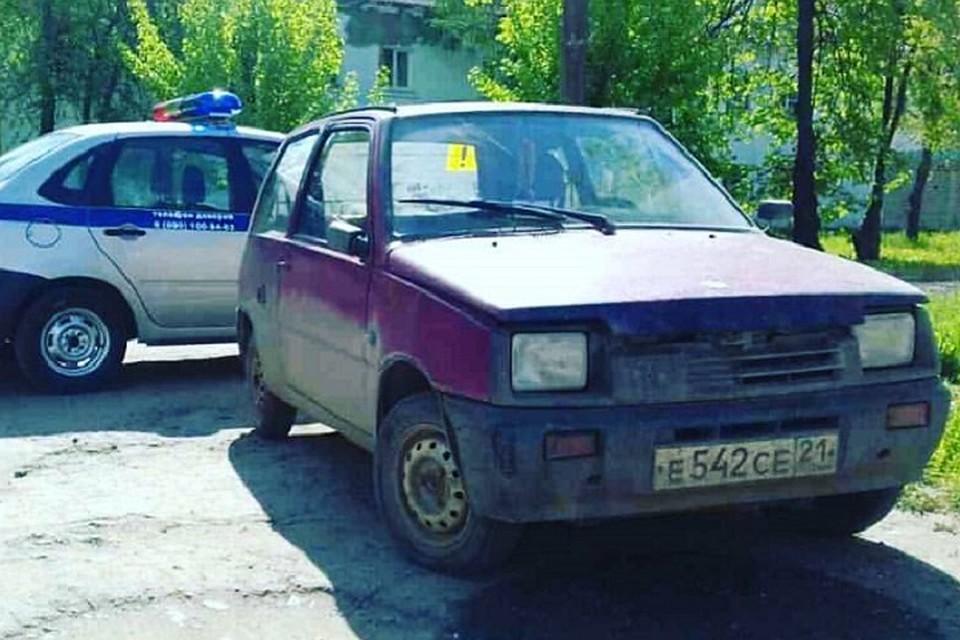Заботливые угонщики оставили записку владельцу авто вЧебоксарах