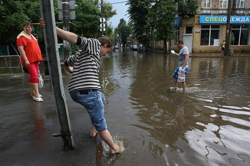 Взону вероятностного подтопления попали два хутора Новокубанского района