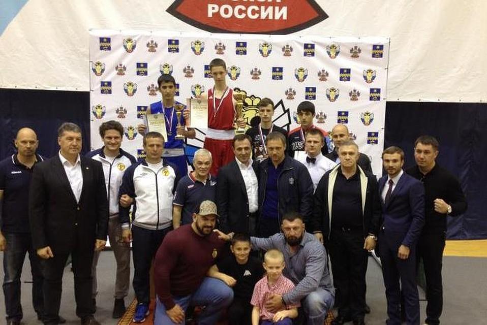 Боксер изТульской области стал 3-м начемпионате РФ
