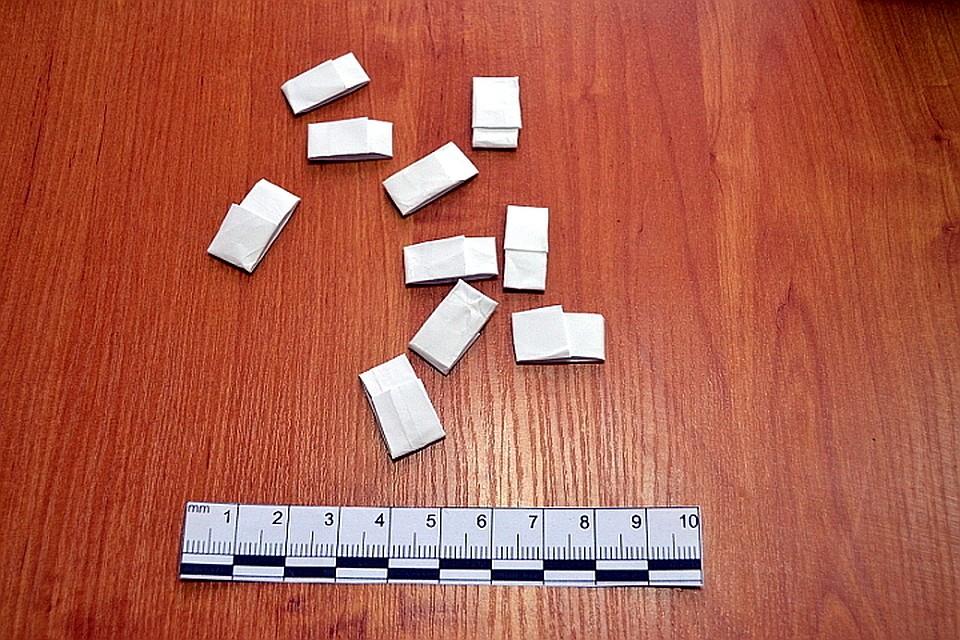 ВТвери у схваченного мужчины обнаружили амфетамин