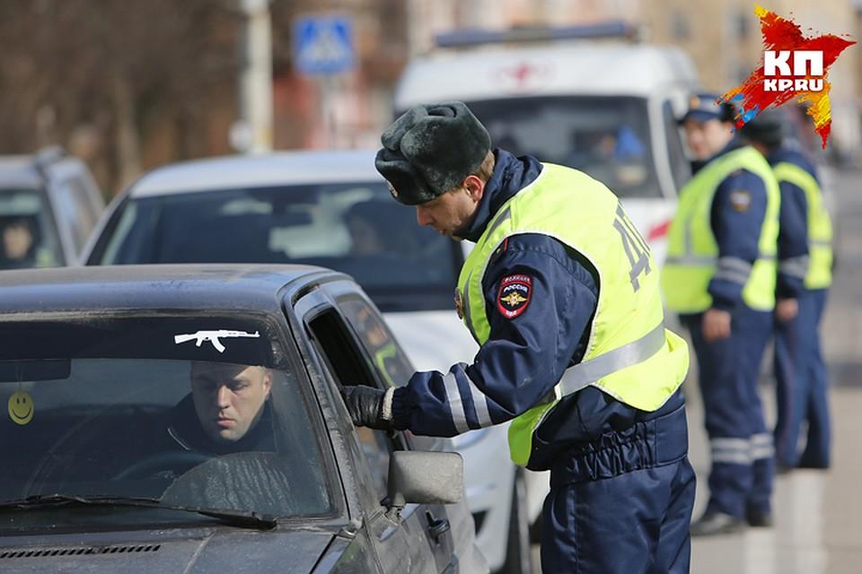 ВБрянске пройдут трёхдневные сплошные проверки водителей