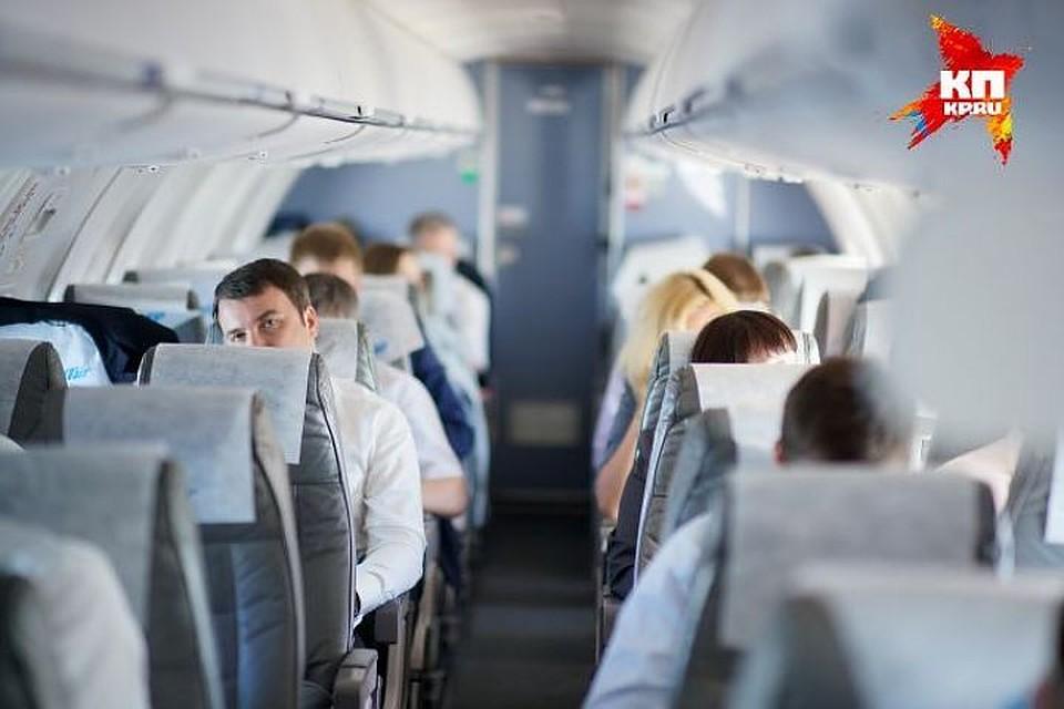 Ваэропорту Кемерова мужчину задержали закурение наборту самолета