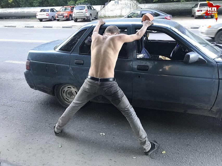 ВСаратове задержали нетрезвого водителя наугнанной машине