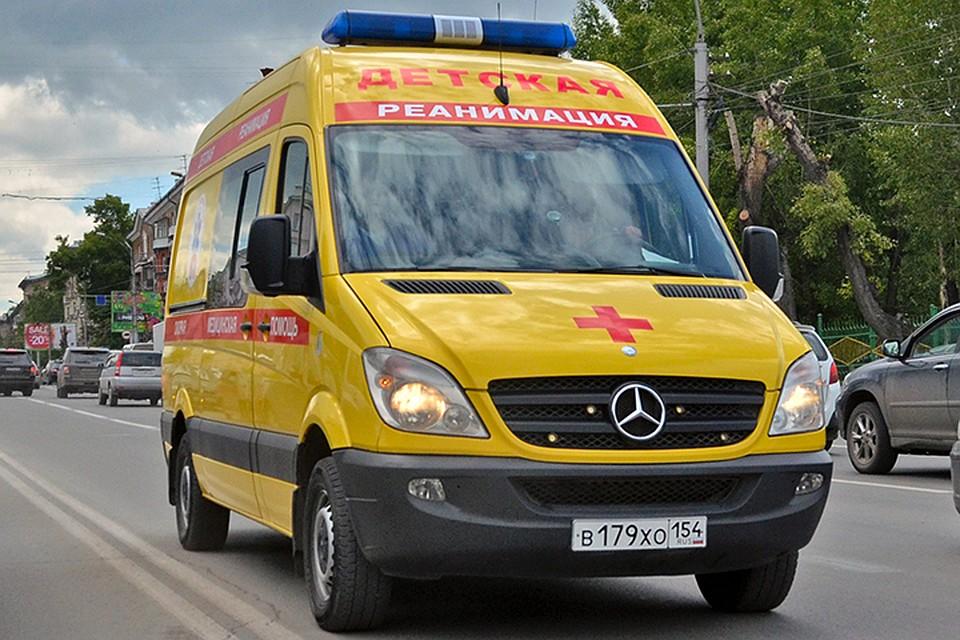 От полученных травм ребенок скончался на месте