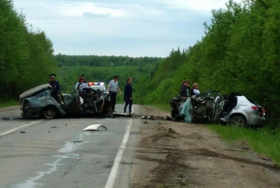 ВПрикамье вДТП погибли три человека