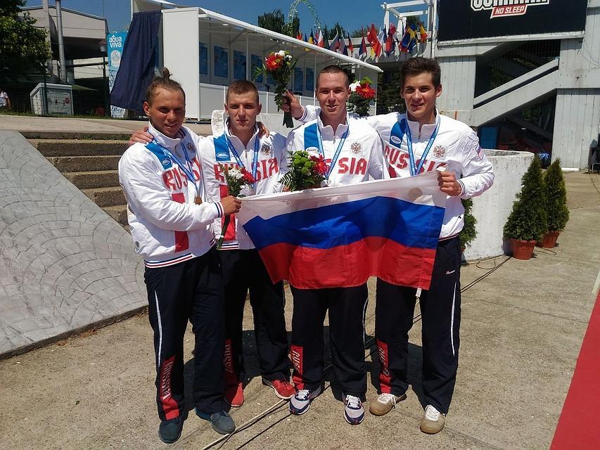 Украинцы завоевали семь золотых наград наЧЕ поканоэ среди молодежи
