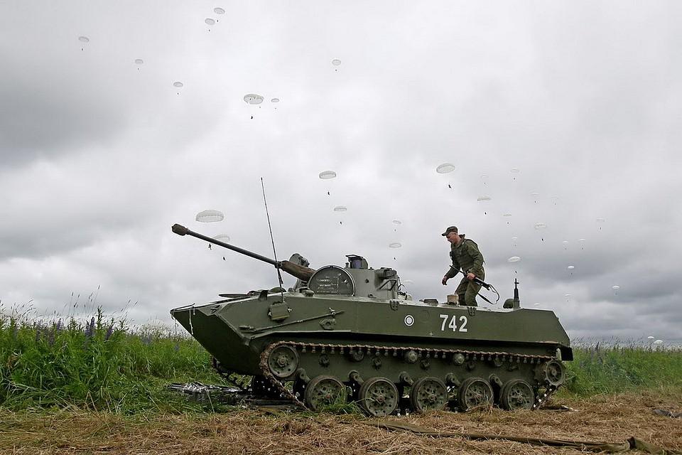 ВДВ РФ начали учения вУльяновской иИвановской дивизиях