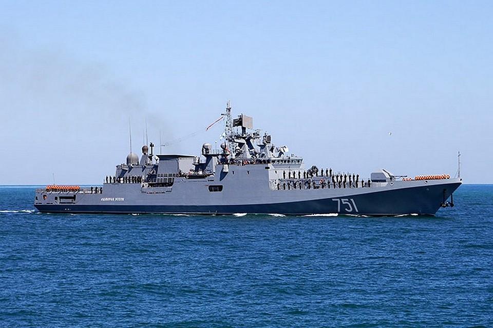 Новый фрегатЧФ «Адмирал Эссен» прибыл вСевастополь