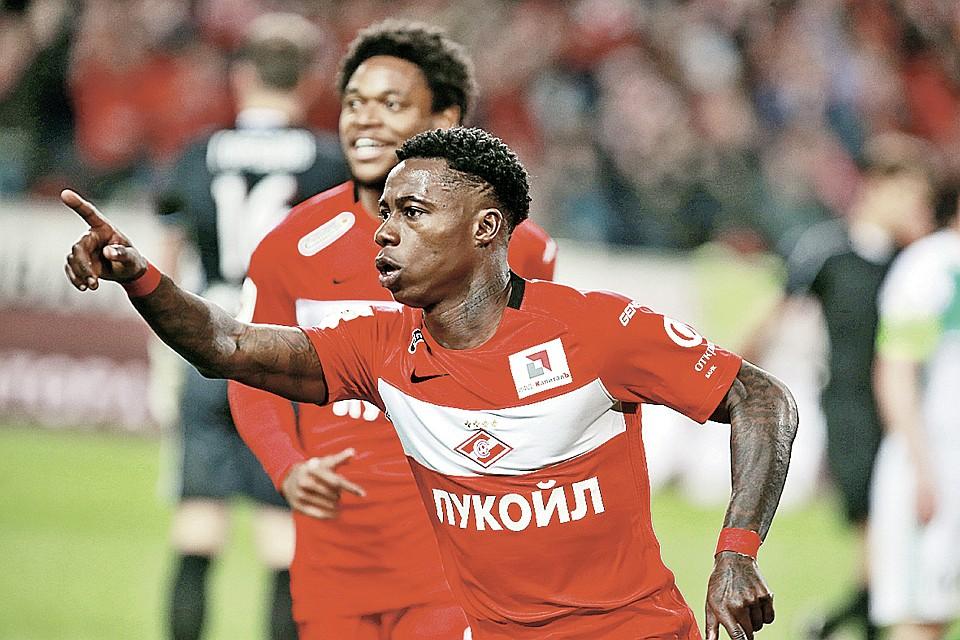 Летом Квинси Промес мог покинуть «Спартак», но решил остаться, чтобы сыграть в Лиге чемпионов.