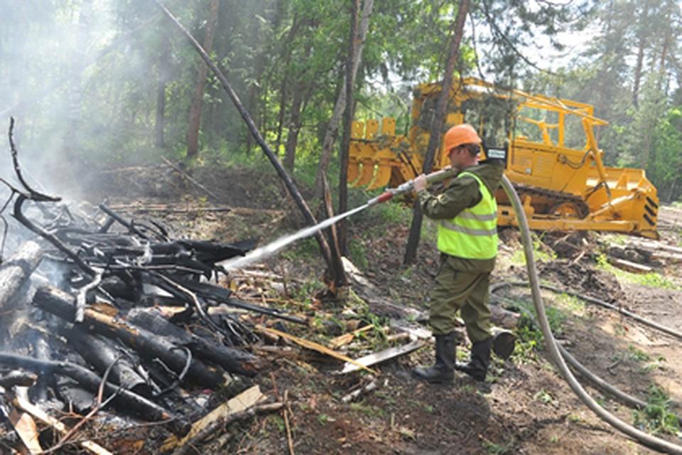 В 2-х районах Кубани объявили экстренное предупреждение опожароопасности 5-ого класса