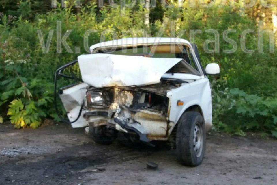 ВКрасноярском крае при лобовом ДТП умер молодой мужчина