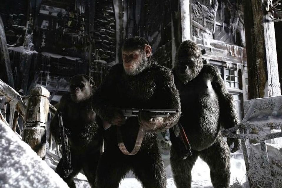 Новая «Планета обезьян» значительно проигрывает посборам прошлому кинофильму
