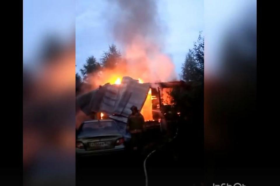 Под Уфой при пожаре погибла женщина-инвалид, супруг вреанимации