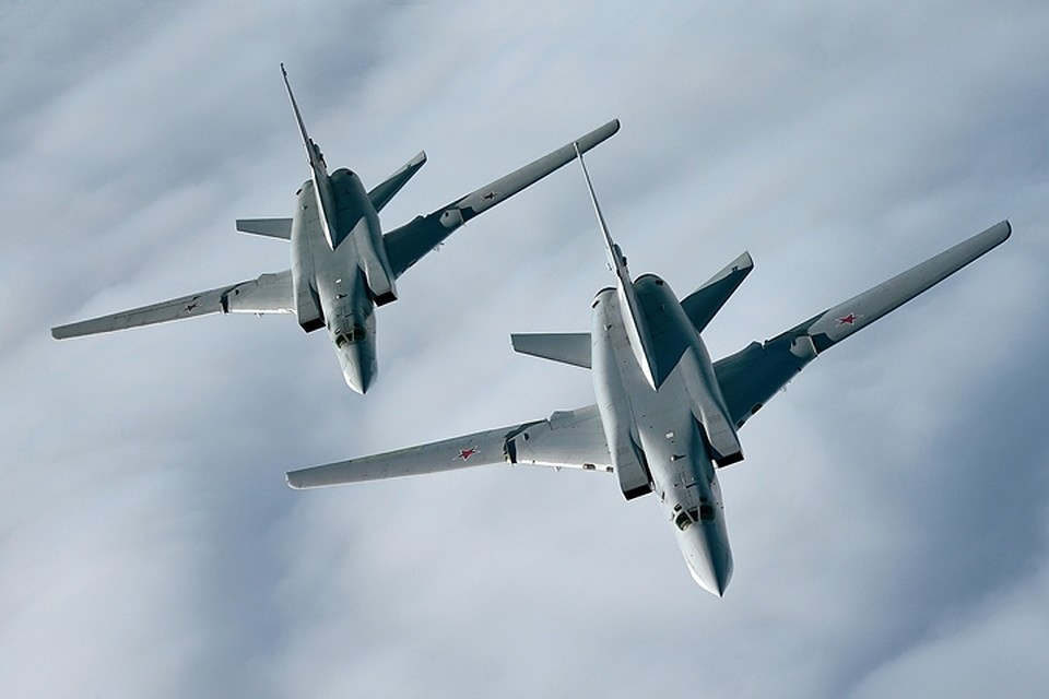 Ту-22 выполнили полет над нейтральными водами Черного моря