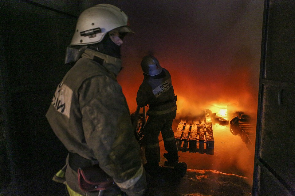 Два человека погибли впожаре вВурнарском районе