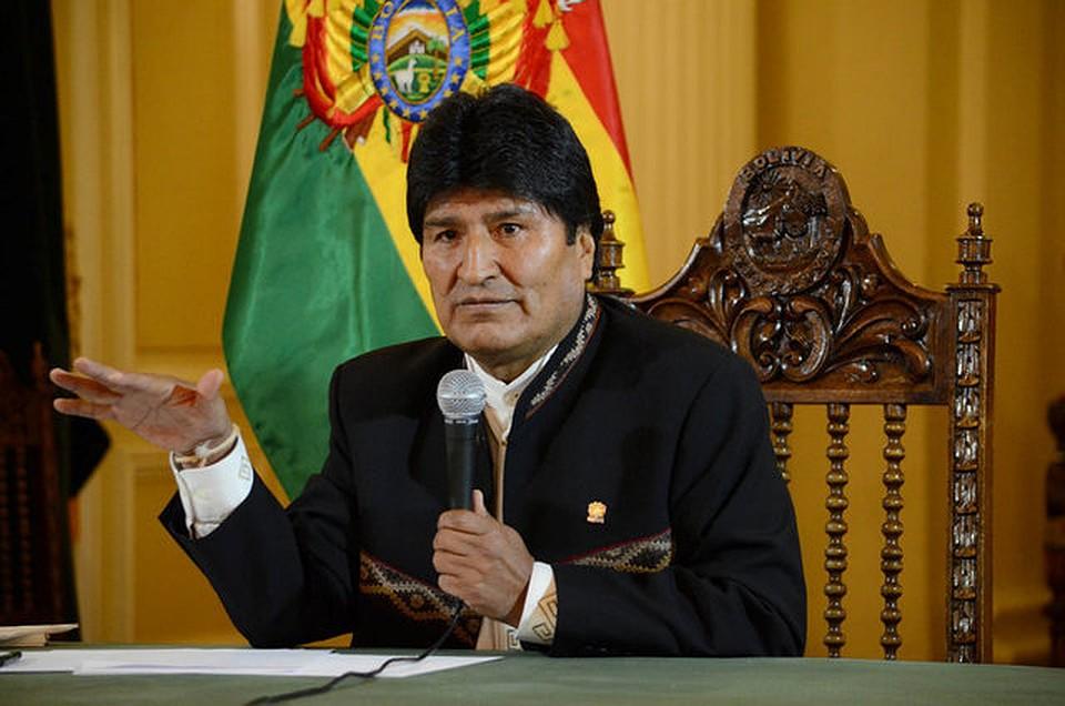 Президент Боливии выступил против антироссийских санкций состороны Соединённых Штатов Америки