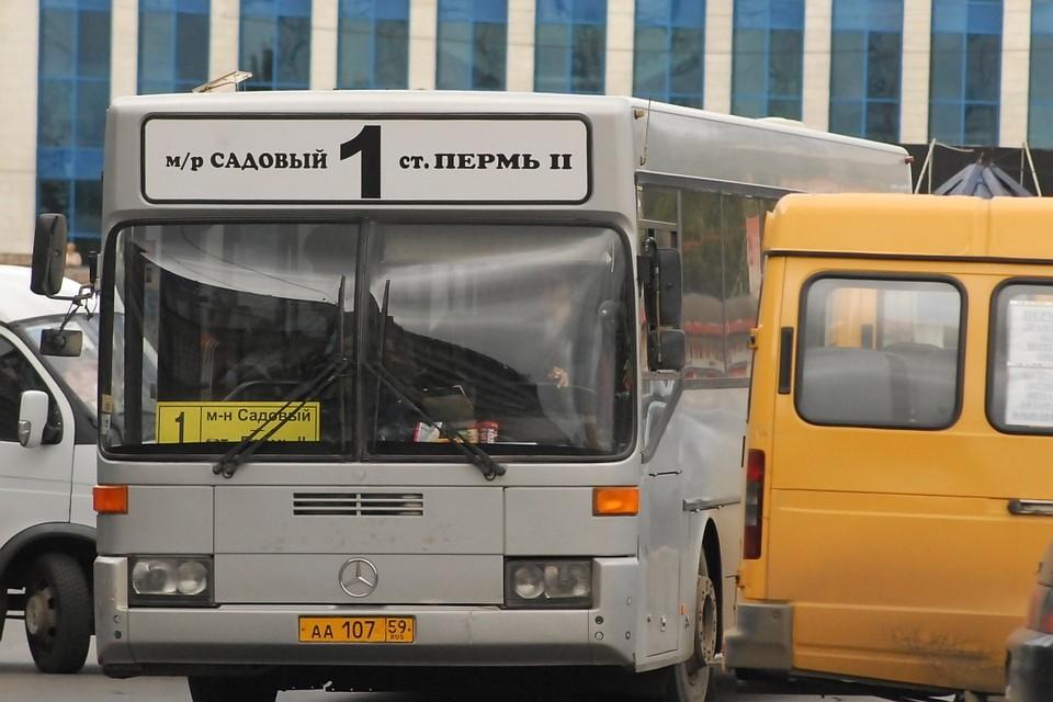 С1августа вПерми изменяется движение автобусных маршрутов