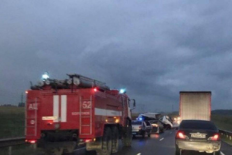 ВДТП натрассе Томск— Новосибирск умер шофёр