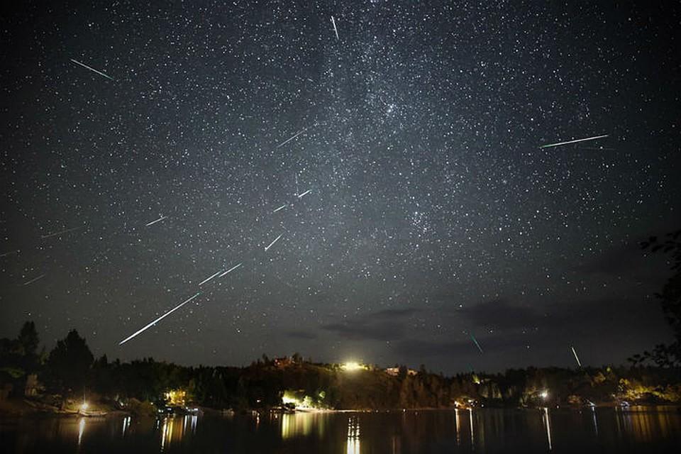 Сейчас как раз наступило время наблюдать за метеорным потоком Персеиды
