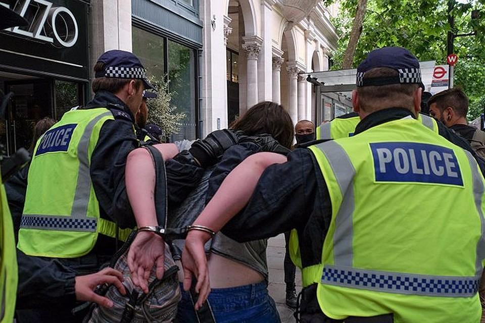 Встолице Англии схвачен подозреваемый ворганизации теракта