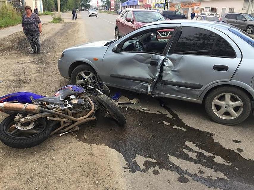 НаСтаврополье вДТП скончался молодой мотоциклист
