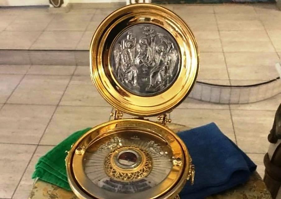 Волгоградцы смогут до14августа увидеть частичку Хитона малыша Христа